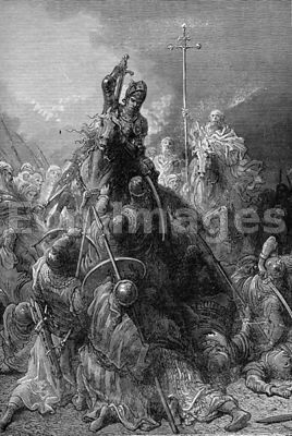 Robert of Artois at Battle of Mansurah