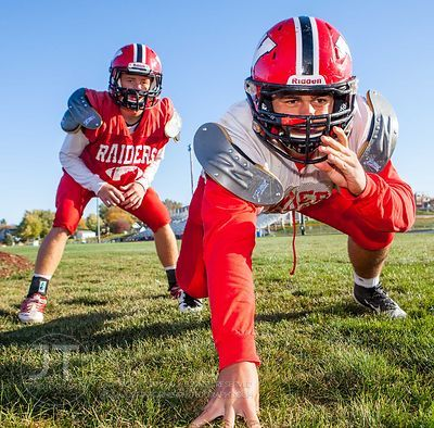 Williamsburg defensive standouts Corbin Blythe, a senior with 11 tackles for loss and seven sacks, and Aaron Schultz, a junio...