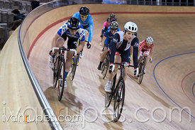 Women Points Race. Mattamy National Cycling Centre, Milton, On, September 30, 2016