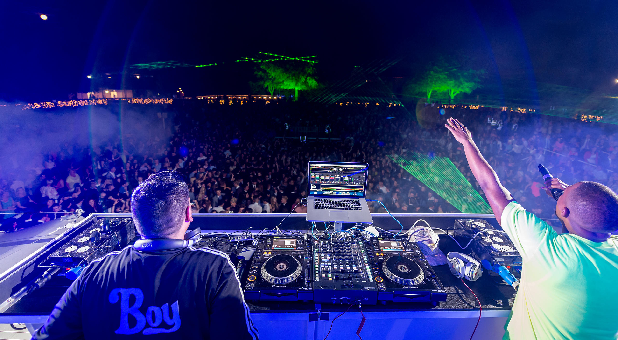 Naughty Boy & DJ King at Goodwood Three Friday Nights 2014