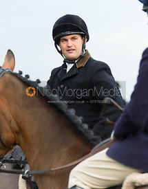Jeremy Dale At the meet. The Belvoir Hunt at Highfield Farm 12/12