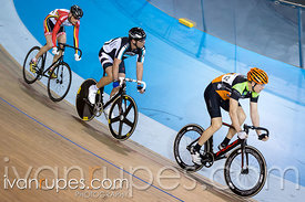 Master C/D Scratch Race. Ontario Track Provincial Championships, March 4, 2016