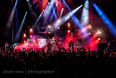 Five Finger Death Punch and fans