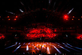 Ceremony during the Final Tournament - Final Four - SEHA - Gazprom league, Bronze Medal Match Meshkov Brest - PPD Zagreb, Bel...
