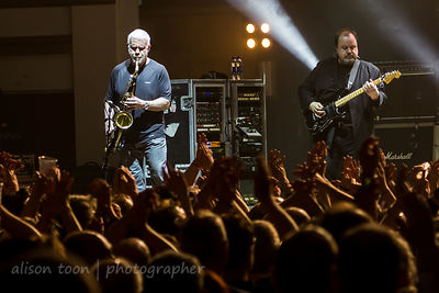 Phil Todd and Steve Rothery