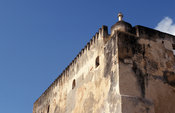 Fort Jesus was built by the Portuguese in 1593, Mombasa, Kenya