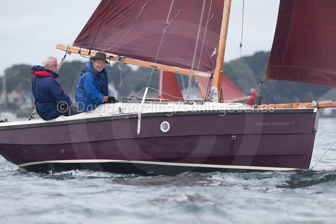 Cornish Shrimper 779, Zhik Poole Week 2015, 20150824049