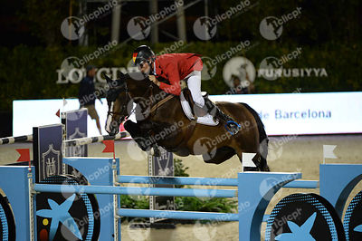 Christian AHLMANN ,(GER), TALOUBET Z during Furusiyya FEI Nations Cup Jumping Final competition at CSIO5* Barcelona at Real C...