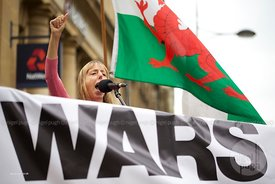 Medea Benjamin: NO TO NATO - NEWPORT ANTI WAR COALITION DEMONSTRATION
