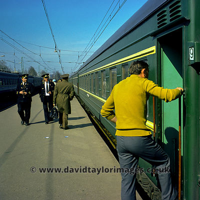 Moscow to Leningrad Express | Moscow Station | April 1976