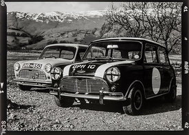 GPH 1C and UHR 850 Ex Works Cooper 1964 and the famous Downton: Photographer: Neil Emmerson 1998