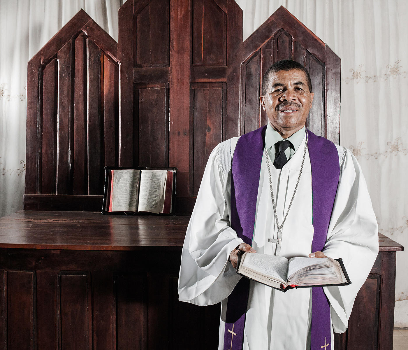 BETIOKY - Mr Mahatoky, married, 57, is a pastor of the Lutheran Protestant Church since 1985. He is also President of the Sou...
