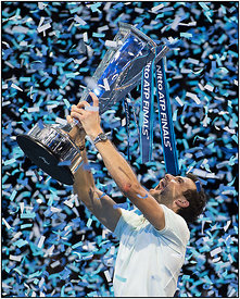 Nitto ATP Finals Tennis Championships, O2 Arena London, England 19th November 2017.