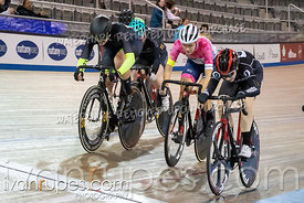 Elite/Junior Women Points Race. Ontario Track Championships, March 1, 2019