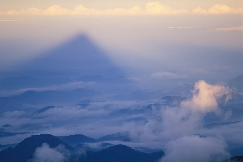 Shadow of Adam's Peak.
