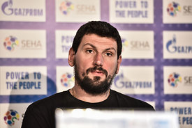 Arpad ŠTERBIK of Vardar during the Final Tournament - Final Four - SEHA - Gazprom league, Finals press conference Varazdin, C...