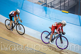 U15 Women Team Sprint. Ontario Track Provincial Championships, March 6, 2016