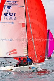 Mini Mayhem, GBR9063T, Melges 24, Weymouth Regatta 2018, 20180908069.