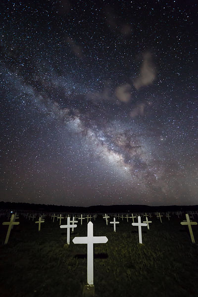 Cemetery at Night