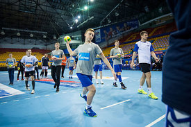 Kid during the Final Tournament - Final Four - SEHA - Gazprom league, Kids day in Brest, Belarus, 08.04.2017, Mandatory Credi...