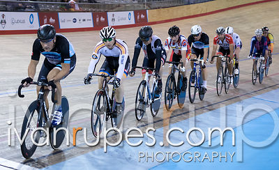 Master B Men Points Race. Canadian Track Championships, Mattamy National Cycling Centre, Milton, On, September 24, 2016