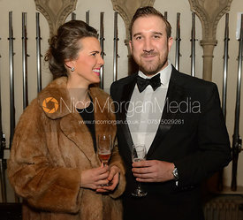 Boogie Machin, Russell Cripps - The BHSC Cocktail Party at Belvoir Castle, 11th March 2017