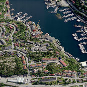 Kristiansund aerial photos