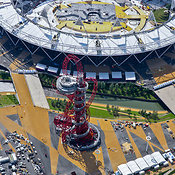 Aerial View Of The Orbit, London