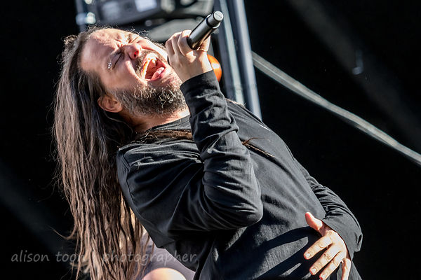 Jonathan Davis at Aftershock 2018