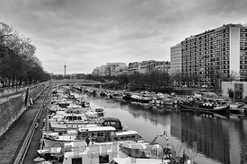Port de l'Arsenal Paris 12ème