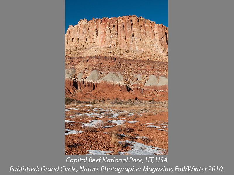 Capitol Reef National Park, Utah, USA