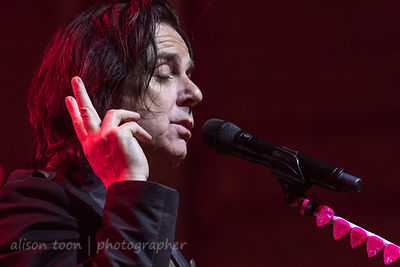 Steve Hogarthy, vocals, Marillion