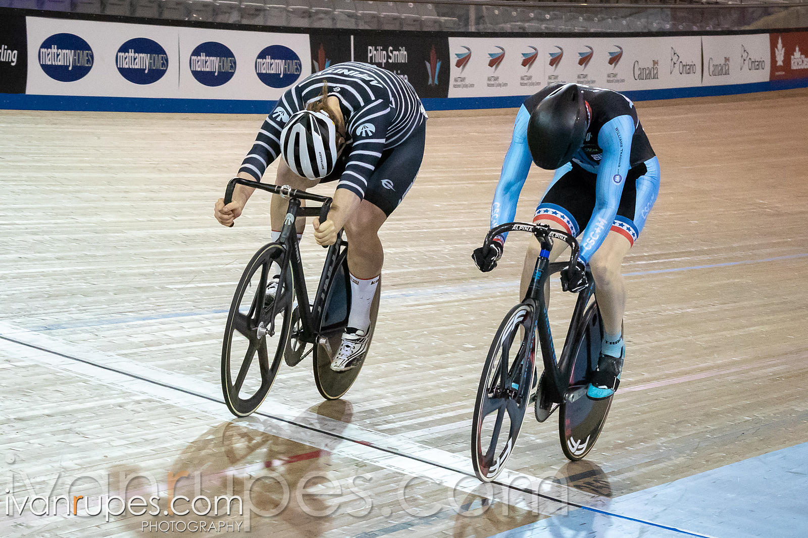 Men Keirin 1-6 Final. Ontario Track Championships, March 3, 2019