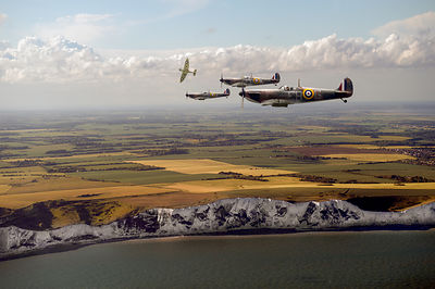 White Cliffs Spitfires
