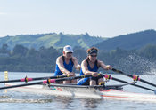 Taken during the World Masters Games - Rowing, Lake Karapiro, Cambridge, New Zealand; ©  Rob Bristow; Frame 508 - Taken on: Tuesday - 25/04/2017-  at 09:05.30