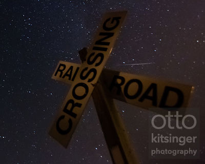 Perseid Crossing