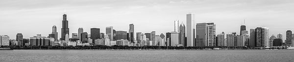 Chicago Skyline Panorama High Resolution Photo