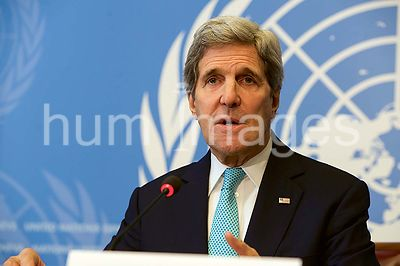 Secretary Kerry Holds News Conference Following Address to UN Human Rights Council in Switzerland