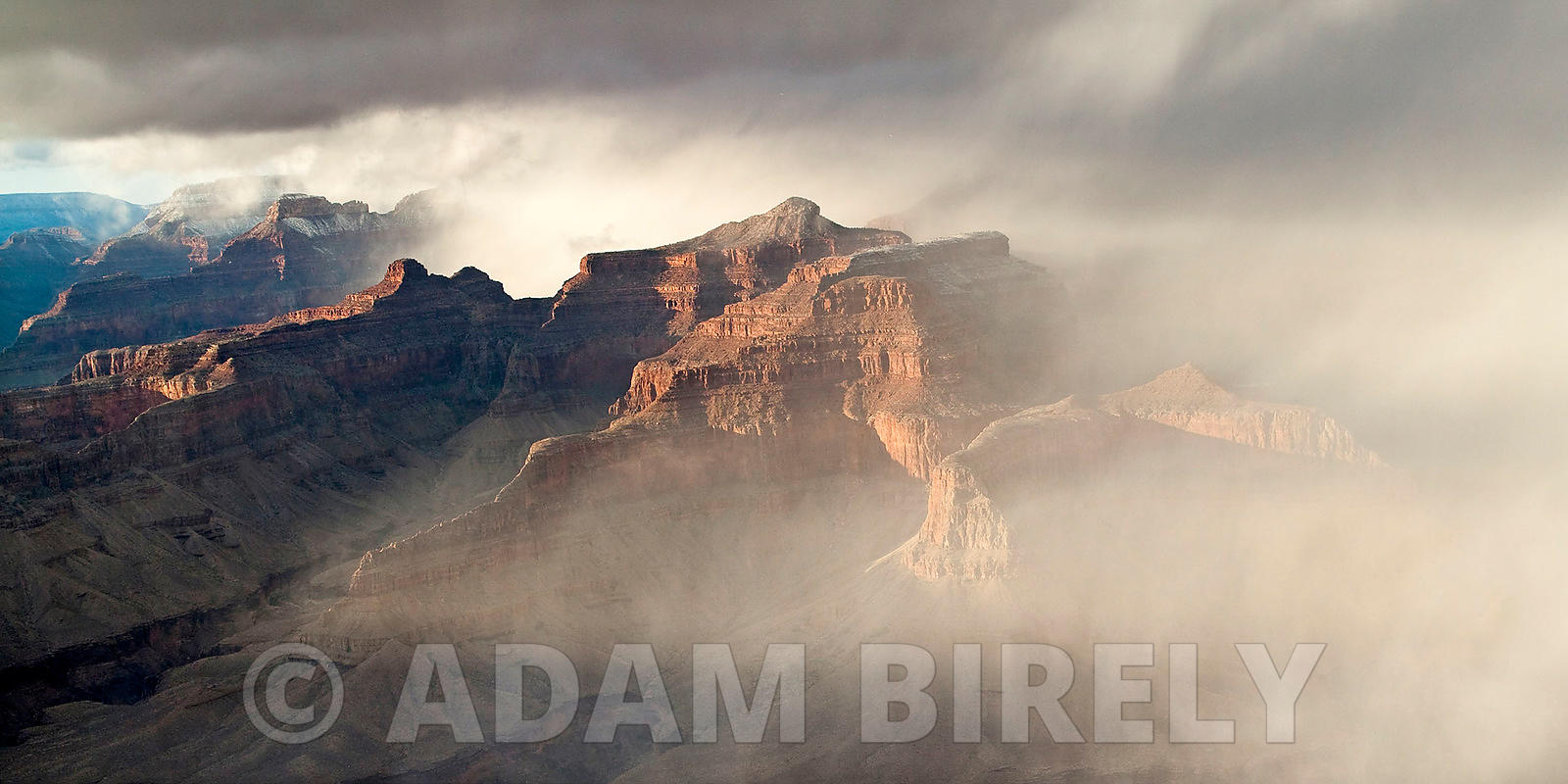 Eerie Grand Canyon