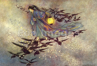 The Star Lovers by Warwick Goble