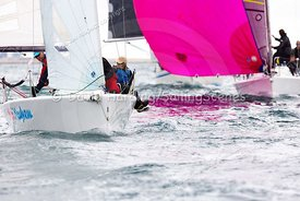 Mini Mayhem, GBR9063T, Melges 24, Weymouth Regatta 2018, 20180908460.