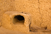 oven in the House of Siwa museum, traditional Siwan house, Siwa oasis, Egypt