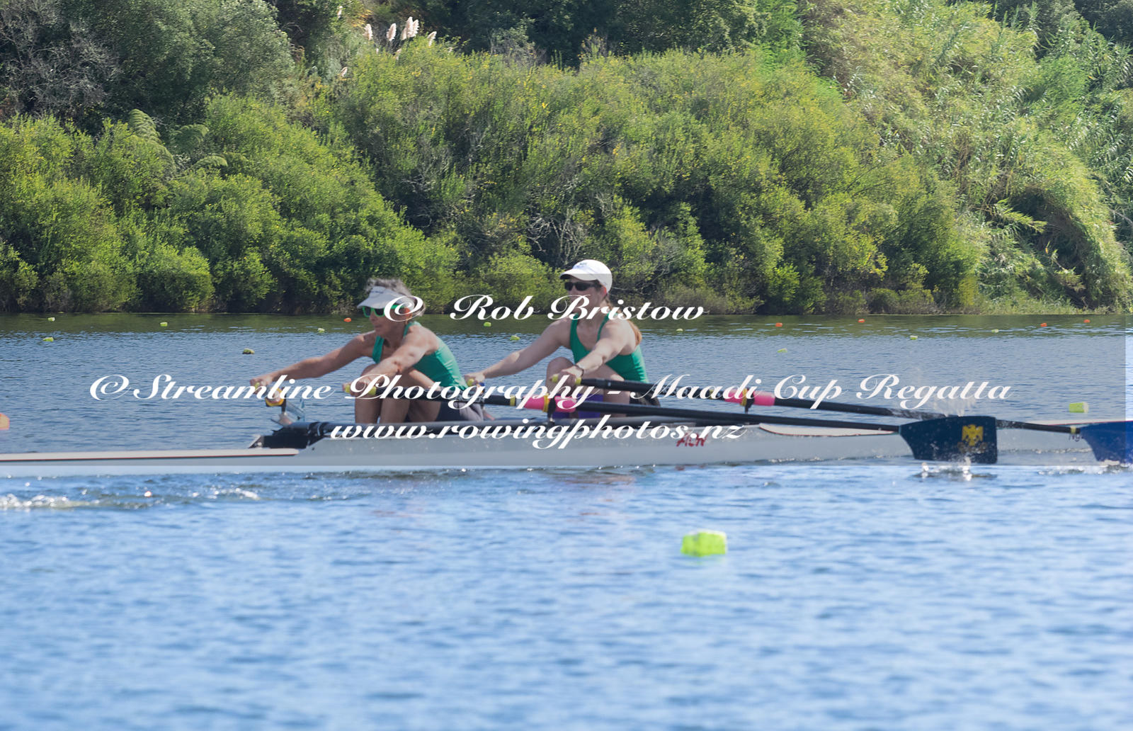 Taken during the World Masters Games - Rowing, Lake Karapiro, Cambridge, New Zealand; ©  Rob Bristow; Frame 385 - Taken on: T...