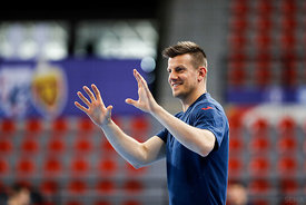 Ljubo Vukic of team Meshkov Brest training during the Final Tournament - Final Four - SEHA - Gazprom league, Skopje, 12.04.20...