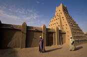 Sankoré mosque was built in the 15th century and was the base for the University of Sankoré, Timbuktu, Mali