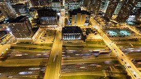 Bird's Eye: Crossing The Busy Kennedy Expressway