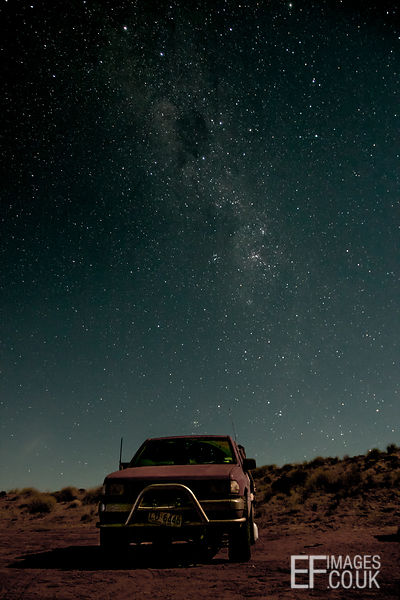 The Milkyway Over Spud The Holden Rodeo