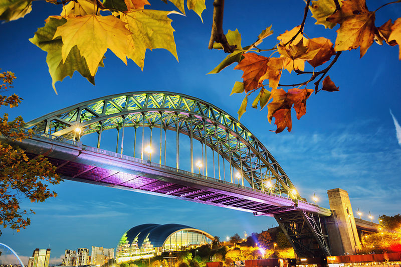 Autumn Colours on the Tyne