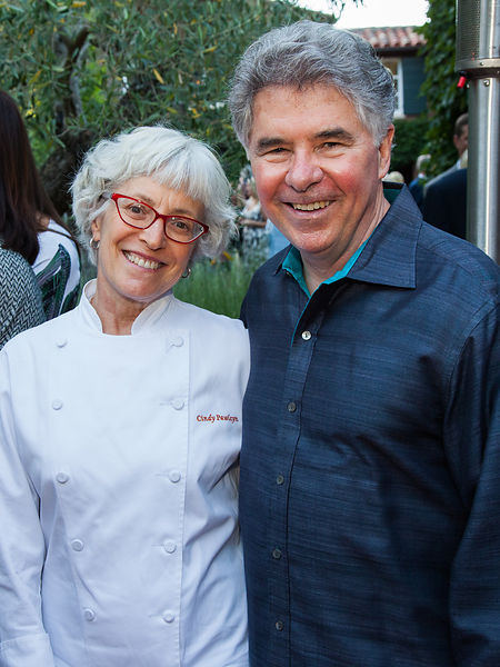 Garen Staglin and Chef Cindy Pawlcyn.
