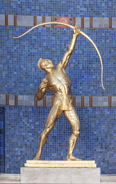 The Archer in Front of the Hall of State 2
